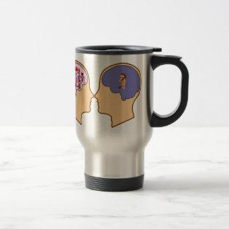 Girl V Guy funny design - Customisable Coffee Mug