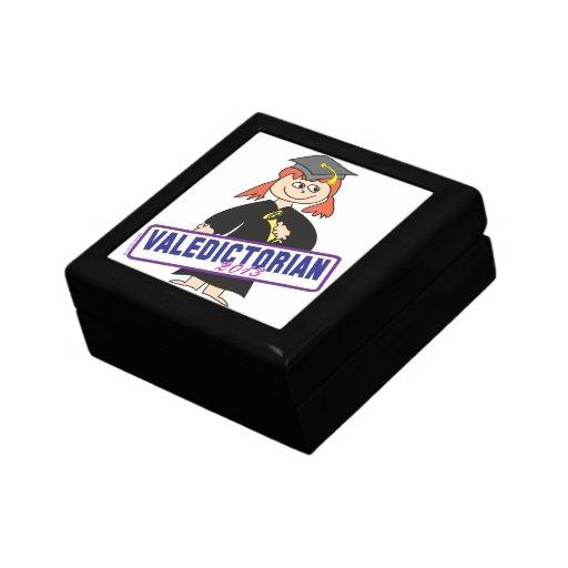 Girl Valedictorian Jewelry Box