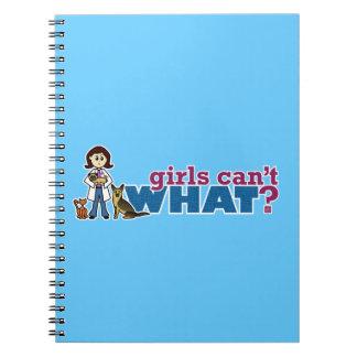 Girl Veterinarian Spiral Notebook