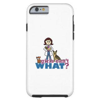 Girl Veterinarian Tough iPhone 6 Case