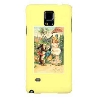 Girl Vintage Easter Samsung Galaxy Note 4 Case