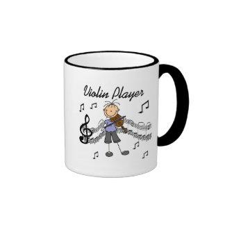 Girl Violin Player Tshirts and Gifts Coffee Mugs