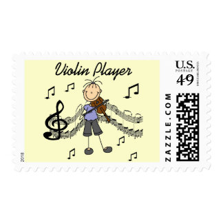 Girl Violin Player Tshirts and Gifts Postage Stamp
