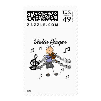 Girl Violin Player Tshirts and Gifts Postage