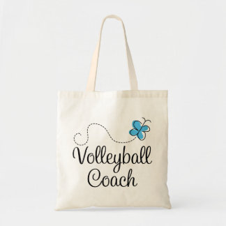 Girl Volleyball Coach Gift Budget Tote Bag