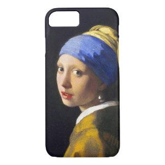 Girl w Pearl Earring ~ Vermeer iPhone 7 Case