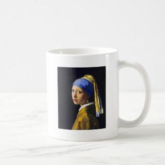Girl w Pearl Earring ~ Vermeer Coffee Mugs