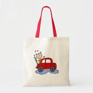 Girl Washing Car Bag