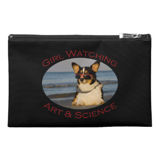 Girl Watching, Art & Science Travel Accessories Bag