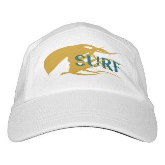 Girl Watching Waves Art: Surf Hat