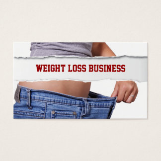 Girl Weight Loss business card