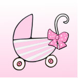 Girl Welcome Baby or Baby Shower Acrylic Cut Out
