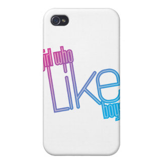 Girl who love Boys iPhone 4/4S Cases