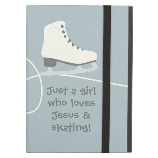 Girl who loves Jesus & skating personalized Case For iPad Air