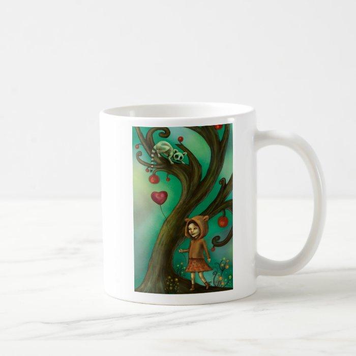Girl Who Loves Lemurs Coffee Mug