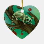 Girl Who Loves Lemurs Ornament