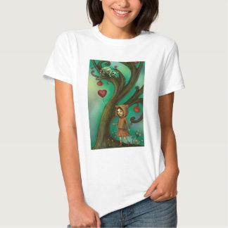 Girl Who Loves Lemurs Tee Shirt