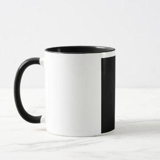 Girl with a beauty spot on chin mug