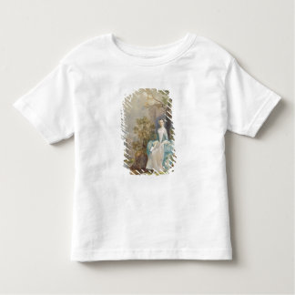 Girl with a Book Seated in a Park, c.1750 (oil on Toddler T-shirt