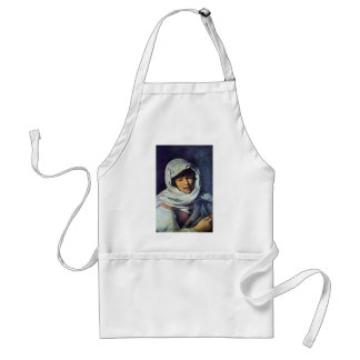 Girl With A Coin (The Galician) Adult Apron