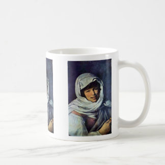Girl With A Coin (The Galician) Classic White Coffee Mug