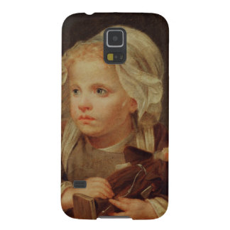 Girl with a Doll Galaxy S5 Case