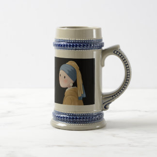 Girl with a Pearl Earring Beer Stein