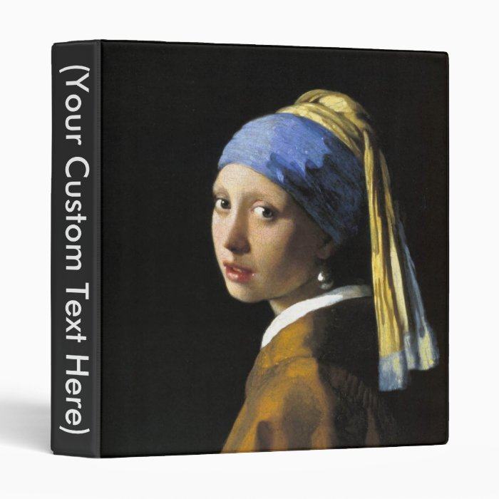 Girl With a Pearl Earring Binder