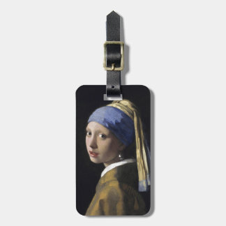 Girl with a Pearl Earring by Johannes Vermeer Bag Tag