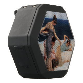 Girl With A Pearl Earring by Johannes Vermeer Black Bluetooth Speaker