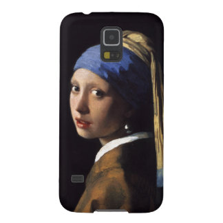 Girl With A Pearl Earring by Johannes Vermeer Case For Galaxy S5