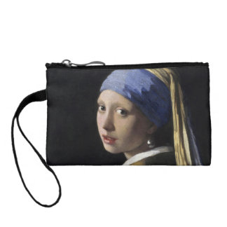 Girl with a Pearl Earring by Johannes Vermeer Change Purse