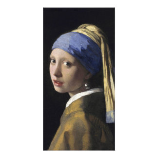 Girl with a Pearl Earring by Johannes Vermeer Photo Card