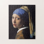 Girl With A Pearl Earring by Johannes Vermeer Jigsaw Puzzle