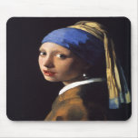 Girl with a pearl earring. By Johannes Vermeer Muismat