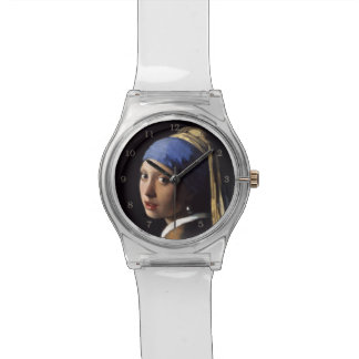 Girl With A Pearl Earring by Johannes Vermeer Watch