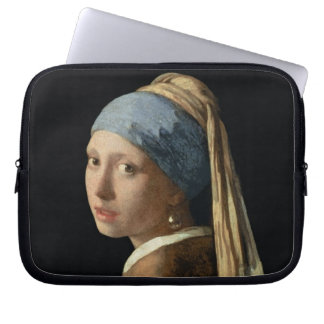 Girl with a Pearl Earring, c.1665-6 (oil on canvas Computer Sleeve