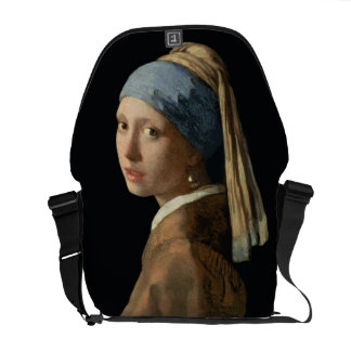 Girl with a Pearl Earring, c.1665-6 (oil on canvas Courier Bag