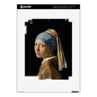 Girl with a Pearl Earring, c.1665-6 (oil on canvas iPad 3 Decals