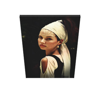 Girl with a Pearl Earring Canvas