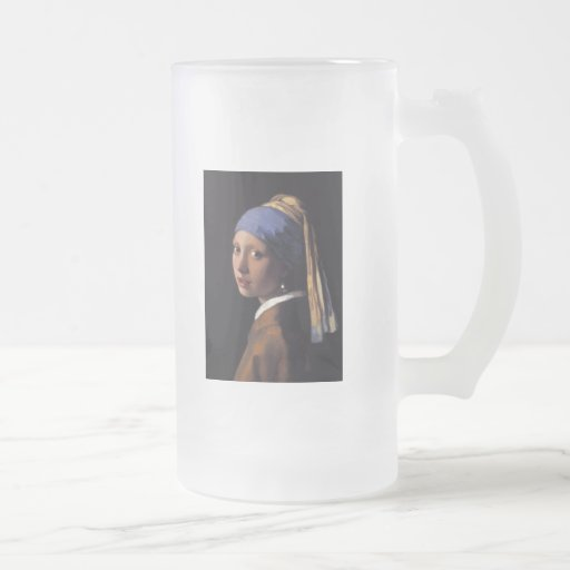 Girl with a Pearl Earring Coffee Mugs