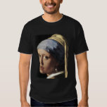 Girl With a Pearl Earring (detail) T-Shirt