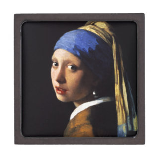 Girl with a Pearl Earring Gift Box Premium Jewelry Box