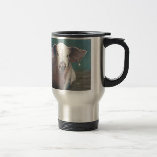 Girl with a Pearl Earring II 15 Oz Stainless Steel Travel Mug
