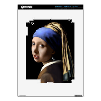 Girl with a Pearl Earring iPad 3 Skins
