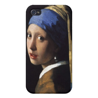 Girl with a Pearl Earring iPhone Case Case For iPhone 4