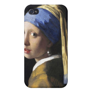 Girl with a Pearl Earring, Jan Vermeer Case For iPhone 4