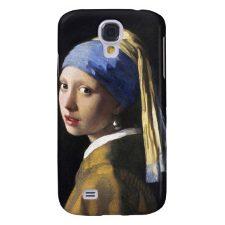 Girl with a Pearl Earring, Jan Vermeer Samsung Galaxy S4 Cover
