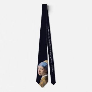 Girl with a Pearl Earring Neck Tie