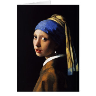 Girl with a Pearl Earring Note Card